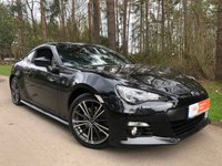 USED 2013 13 SUBARU BRZ 2.0 I SE LUX 2d 200 BHP HEATED SEATS SILICA CRYSTAL BLACK , FULL SERVICE HISTORY