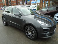 "USED 2016 16 PORSCHE MACAN 3.0 D S PDK 5d AUTO 258 BHP ULEZ EXEMPT 1 OWNER, 20"" ALLOY WHEELS"