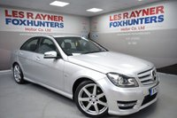 USED 2012 12 MERCEDES-BENZ C CLASS 2.1 C220 CDI BLUEEFFICIENCY SPORT 4d AUTO 168 BHP Full Leather, Bluetooth, Cruise control, Great MPG