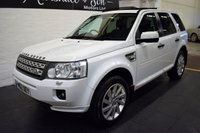 USED 2012 62 LAND ROVER FREELANDER 2 2.2 SD4 HSE 5d AUTO 190 BHP 7 LAND ROVER SERVICE STAMPS TO 113K - LEATHER - NAV - SUNROOFS - H/SEATS - PRIVACY