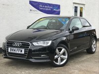 USED 2014 14 AUDI A3 1.2 TFSI SE 3d 104 BHP Sporty Looks! Good spec! - Low Insurance - 2 Owners - Full Service History