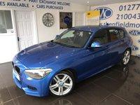 2013 BMW 1 SERIES 2.0 118D M SPORT 5d 141 BHP £9500.00