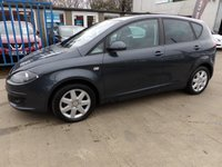 USED 2008 57 SEAT ALTEA 1.9 REFERENCE SPORT TDI 5d 103 BHP NEW MOT, SERVICE & WARRANTY