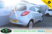 USED 2014 14 FORD KA 1.2 ZETEC 3d 69 BHP PETROL SILVER FULL FORD SERVICE HISTORY