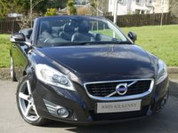 USED 2010 10 VOLVO C70 2.0 D4 SE LUX 2d AUTO 175 BHP VERY DESIRABLE TIN TOP CONVERTIBLE**** SAT NAV** BLIS