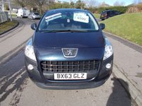 USED 2013 63 PEUGEOT 3008 1.6 E-HDI ACTIVE 5d AUTO 115 BHP ++LOW MILEAGE AUTOMATIC+12 MONTHS AA BREAKDOWN COVER++