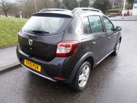 USED 2015 15 DACIA SANDERO 1.5 STEPWAY LAUREATE DCI 5d 90 BHP ++SERVICE HISTORY+CAR COMES WITH A FREE 12 MONTHS AA BREAKDOWN COVER++