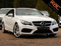 USED 2014 64 MERCEDES-BENZ E-CLASS 2.1 E250 CDI AMG SPORT 2d AUTO 204 BHP (NAV, PAN ROOF & HEATED SEATS)