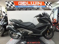 USED 2018 18 KYMCO AK550 ABS A VERY FUTURISTIC SCOOTER!!!
