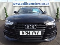 USED 2014 14 AUDI A6 2.0 AVANT TDI BLACK EDITION 5d 175 BHP