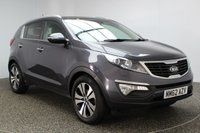 USED 2013 62 KIA SPORTAGE 1.7 CRDI 3 SAT NAV 5DR 114 BHP 1 OWNER FULL SERVICE HISTORY FULL SERVICE HISTORY + HEATED LEATHER SEATS + SATELLITE NAVIGATION + REVERSE CAMERA + DOUBLE SUNROOF + BLUETOOTH + CRUISE CONTROL + CLIMATE CONTROL + MULTI FUNCTION WHEEL + PRIVACY GLASS + XENON HEADLIGHTS + ELECTRIC WINDOWS + 18 INCH ALLOY WHEELS
