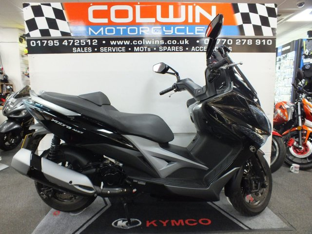 View our KYMCO XCITING
