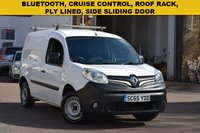 USED 2015 65 RENAULT KANGOO 1.5 ML19 DCI 1d 75 BHP A December 2015 Renault Kangoo 1.5dci ML19 75 in white with 57000 miles.