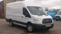 2017 FORD TRANSIT 2.0 350 L4 H3 P/V DRW 1d 129 BHP XLWB JUMBO HI/ROOF 1 OWNER VERY LOW MILES F/S/H 2 KEYS 19 MONTHS WARRANTY COVER /// £15490.00