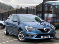 USED 2017 17 RENAULT MEGANE 1.5 DYNAMIQUE NAV DCI 5d AUTO 110 BHP STUNNING ATLANTIC BLUE METALLIC WITH DARK GREY CLOTH UPHOLSTERY. SATELLITE NAVIGATION. REAR CAMERA. CRUISE CONTROL. AMBIENT LIGHTING. TOUCH SCREEN MULTI MEDIA CENTRE. AIR CONDITIONING. ELECTRIC WINDOWS. REMOTE CENTRAL LOCKING. PLEASE GOTO www.lowcostmotorcompany.co.uk TO VIEW OVER 120 CARS IN STOCK.