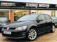 USED 2013 62 VOLKSWAGEN GOLF 1.4 GT TSI ACT BLUEMOTION TECHNOLOGY AUTO NAVIGATION