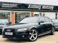 USED 2011 11 AUDI A4 1.8 TFSI BLACK EDITION AVANT 160BHP