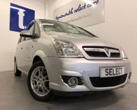 USED 2008 58 VAUXHALL MERIVA 1.6 DESIGN 16V 5d 100 BHP Value for money Compact family MPV with Sat Nav-Only 69,000 miles with brand new clutch just fitted due to slave cylinder weep -clean and tidy and great value -part exchange to clear for ONLY