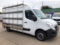USED 2013 13 VAUXHALL MOVANO 2.3 F3500 L2H2 CDTI 100 BHP AIR CON