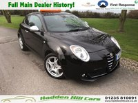USED 2012 12 ALFA ROMEO MITO 1.4 TB MULTIAIR DISTINCTIVE 3d 105 BHP Full Main Dealer History!