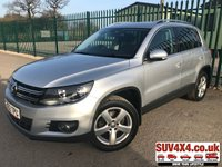 USED 2012 62 VOLKSWAGEN TIGUAN 2.0 SE TDI BLUEMOTION TECHNOLOGY 4MOTION DSG 5d AUTO 138 BHP  ARRIVING SOON. MORE INFO AVAILABLE ON FEATURES TAB BELOW. TEL 01937 849492 OPTION 2