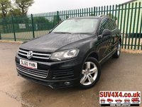 USED 2010 60 VOLKSWAGEN TOUAREG 3.0 V6 ALTITUDE TDI BLUEMOTION TECHNOLOGY 5d AUTO 237 BHP SAT NAV LEATHER FSH 4WD. SATELLITE NAVIGATION. PANORAMIC GLASS ROOF. STUNNING BLACK MET WITH FULL BLACK LEATHER TRIM. HEATED SEATS. CRUISE CONTROL. 19 INCH ALLOYS. COLOUR CODED TRIMS. ELECTRIC TAILGATE. PRIVACY GLASS. BLUETOOTH PREP. FRONT AND REAR PARKING SENSORS. REVERSING CAMERA. CLIMATE CONTROL. MFSW. ROOF BARS. R/CD PLAYER. MOT 03/20. SERVICE HISTORY. SUV & 4X4 CAR CENTRE LS23 7FR. TEL 01937 849492 OPTION 2