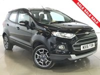 USED 2016 16 FORD ECOSPORT 1.0 TITANIUM 5d 124 BHP 1 Owner/Part Leather/Bluetooth
