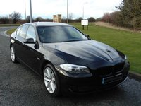 USED 2010 10 BMW 5 SERIES 3.0 530D SE 4d AUTO 242 BHP PRO NAV, HEATED LEATHER SEATS