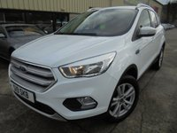 USED 2018 FORD KUGA 0.0 ZETEC TDCI 5d 118 BHP Like New Condition, Save Thousands on New Price, No Deposit Required, No Fee Finance, Part Ex Welcomed