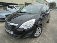 USED 2011 VAUXHALL MERIVA 1.4 S 5d 119 BHP Excellent Condition, Super Small SUV, No Deposit Required, No Fee Finance