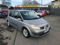 USED 2005 55 RENAULT SCENIC 1.9 DYNAMIQUE DCI 5d 130 BHP IN METALLIC SILVER WITH 125,000 MILES (TRADE CLEARANCE) APPROVED CARS ARE PLEASED TO OFFER THIS RENAULT SCENIC 1.9 DYNAMIQUE DCI 5 DOOR 130 BHP IN METALLIC SILVER WITH 125,000 MILES (THIS VEHICLE SPEEDO HAS BEEN REPLACED SO SHOWING 67000 MILES) THIS IS A PERFECT FAMILY CAR AND RUN AROUND VEHICLE PERFECT FOR A SMALL FAMILY BUT DUE TO THE AGE AND MILEAGE THIS VEHICLE IS BEING OFFERED AS A TRADE CLEARANCE CAR WITH AN MOT UNTIL JUNE 2019.