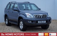 USED 2006 06 TOYOTA LAND CRUISER 3.0 LC3 8-SEATS D-4D 5d AUTO 164 BHP