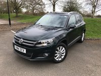 2014 VOLKSWAGEN TIGUAN 2.0 MATCH TDI BLUEMOTION TECHNOLOGY 4MOTION 5d 139 BHP £11000.00