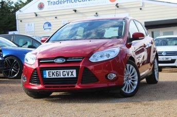2011 FORD FOCUS 2.0 TITANIUM X TDCI 5d AUTO 161 BHP £8495.00