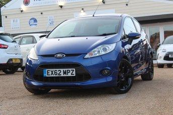 2012 FORD FIESTA 1.6 S1600 3d 132 BHP £6500.00
