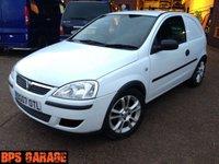 USED 2007 07 VAUXHALL CORSA 1.3 CDTI white van