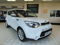 USED 2014 64 KIA SOUL 1.6 CRDI CONNECT PLUS 5d 126 BHP SATELLITE NAVIGATION + BLUETOOTH + SERVICE HISTORY + OCTOBER MOT + CRUISE CONTROL + AIR CONDITIONING + ALLOYS + DAYTIME RUNNING LIGHTS + REMOTE CENTRAL LOCKING + ALL ELECTRIC WINDOWS