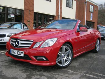 2010 MERCEDES-BENZ E CLASS 3.0 E350 CDI BLUEEFFICIENCY SPORT 2d AUTO 231 BHP £11995.00