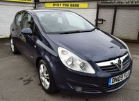 USED 2009 09 VAUXHALL CORSA 1.4 DESIGN 16V TWINPORT 5d 90 BHP * LOW TAX - LOW INSURANCE *