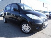 USED 2009 09 HYUNDAI I10 1.2 CLASSIC 5d 77 BHP *** PART EXCHANGE & CARD PAYMENTS WELCOME FINANCE ARRANGED ***  £ 30 ROAD TAX AIR/CON POWER STEERING