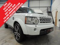 2012 LAND ROVER DISCOVERY 3.0 4 SDV6 HSE 5d AUTO 255 BHP £18995.00