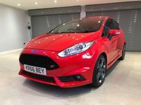 USED 2017 66 FORD FIESTA 1.6 ST-3 3d 180 BHP SATELLITE NAVIGATION + STYLE PACK + KEYLESS ENTRY/LOCK + SCORPION EXHAUST