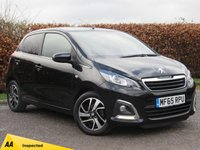 USED 2015 65 PEUGEOT 108 1.2 PURETECH ALLURE 5d ONE OWNER FROM NEW * LOW  MILEAGE * BLUETOOTH * REVERSING CAMERA