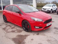 USED 2016 16 FORD FOCUS 1.5 ZETEC S RED EDITION 5d 180 BHP