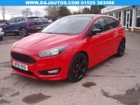 2016 FORD FOCUS 1.5 ZETEC S RED EDITION 5d 180 BHP £10995.00