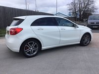 USED 2014 14 MERCEDES-BENZ A CLASS 1.6 A180 BLUEEFFICIENCY SPORT 5d AUTO 122 BHP