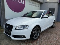 2011 AUDI A3 2.0 SPORTBACK TDI S LINE SPECIAL EDITION 5d 138 BHP £7995.00