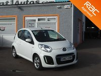 "USED 2014 63 CITROEN C1 1.0 EDITION 3d 67 BHP 14"" Alloys, 3 Service stamps, Air Con."