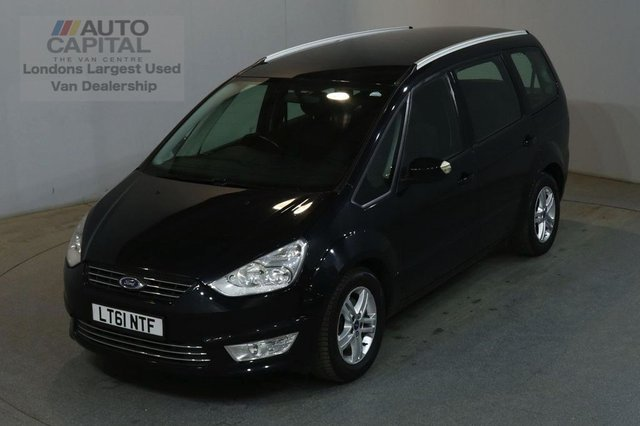 2011 61 FORD GALAXY 2.0 ZETEC TDCI 138 BHP DIESEL POWERSHIFT 7 SEATER MPV CAR FULL SERVICE HISTORY SPARE KEY