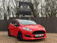 USED 2015 65 FORD FIESTA 1.0 ZETEC S RED EDITION 3dr 1 Year Parts & Labour Warranty